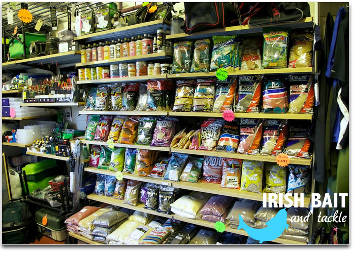Fishing tackle shop owned and operated by irish bait and for Fishing equipment stores